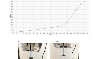 吊式弹簧减震器外壳强度测试报告