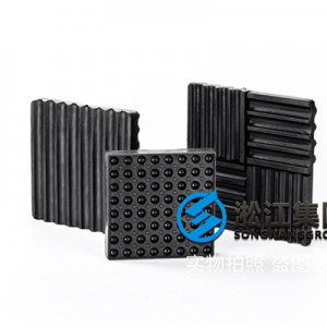 工业设备170*170*20橡胶减振垫